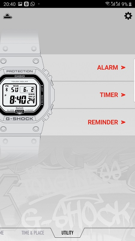 G Shock Connected App 3