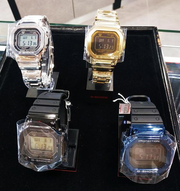 G Shock GMW B5000G and B5000GD Metal Malaysia