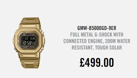 G Shock GMW B500GD 9 Price UK