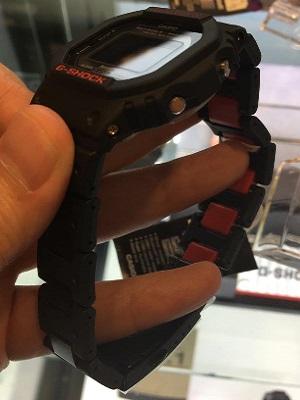 G-Shock GW-B5600HR-1 Red Color Bracelet Band.jpg