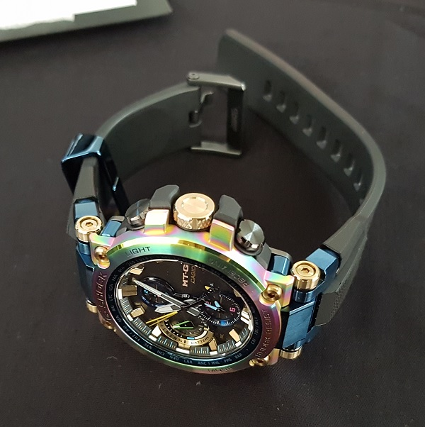 G-Shock MTG-B1000RB Rainbow Limited Edition Unboxing 8e
