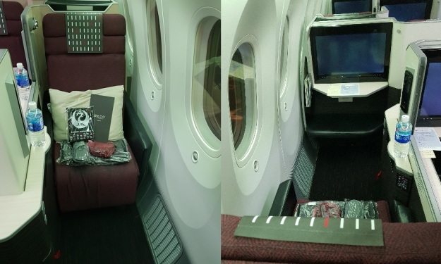 Hanoi to Tokyo Japan Airlines JAL Sky Suite 2