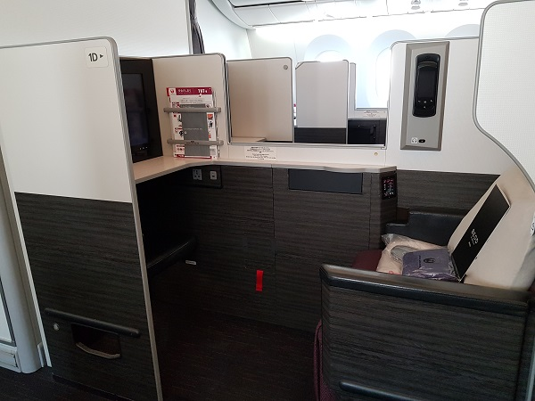 Japan Airlines Sky Suite Business Class Centre Row 2