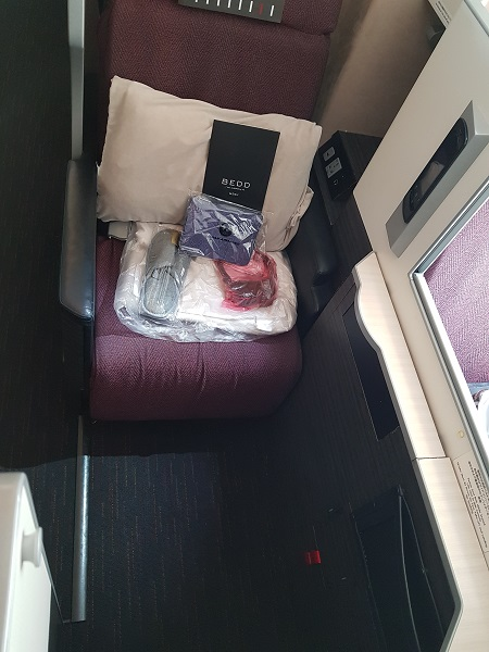 Japan Airlines Sky Suite Business Class Seat 1C F