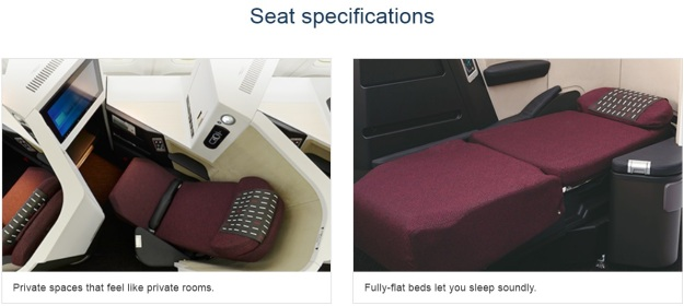 Japan Airlines Sky Suite III Flat Bed