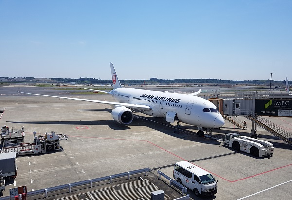 Nartia Airport Japan Airlines Boeing 787 Dreamliner.jpg
