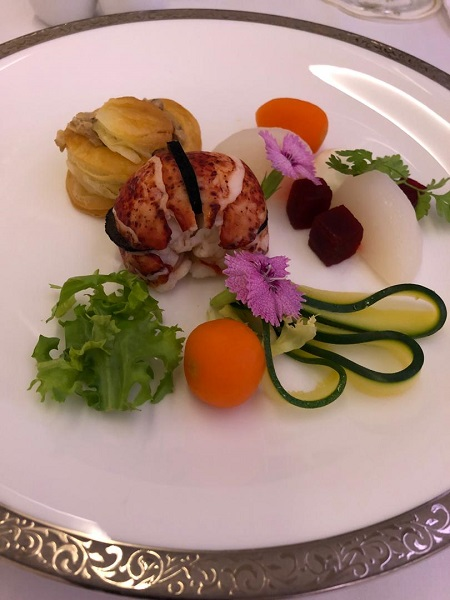 Thai Airways Royal First Class Airbus A380 Review Food and Drinks 3