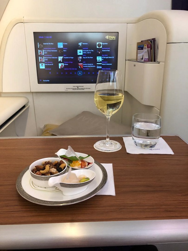 Thai Airways Royal First Class Airbus A380 Review Seat 1