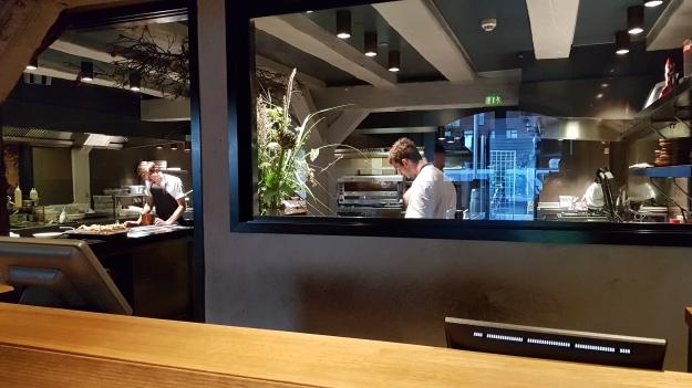 Barr Restaurant Copenhagen kitchen