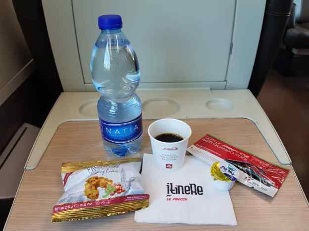 Bullet Train Florence to Venice Business Class 1.jpg