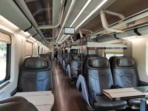 Bullet Train Florence to Venice Business Class 9