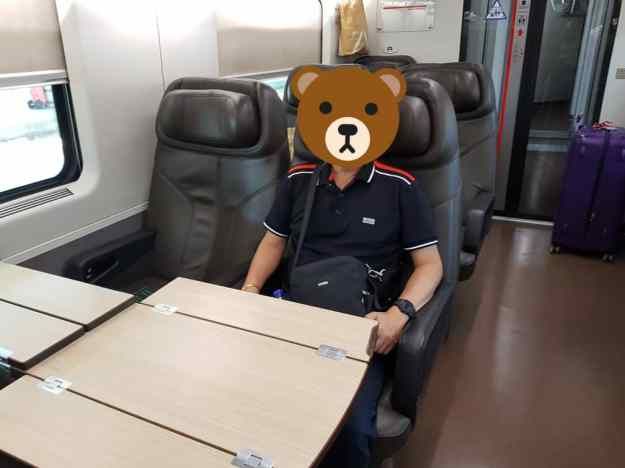 Bullet Train Florence to Venice Business Class.jpg