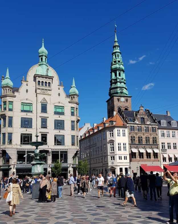 Copenhagen Main Shopping Street 1