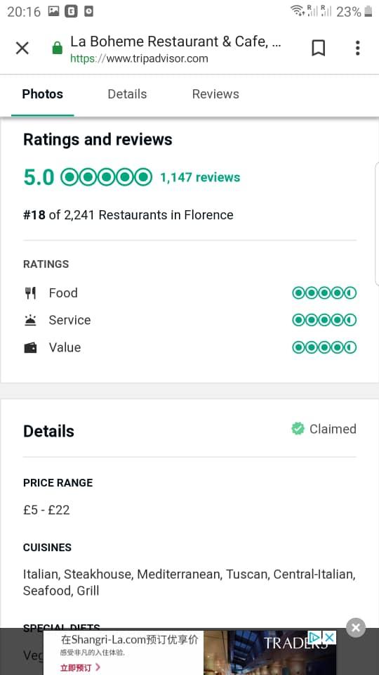 Florence Best Restaurants La Boheme 18.jpg