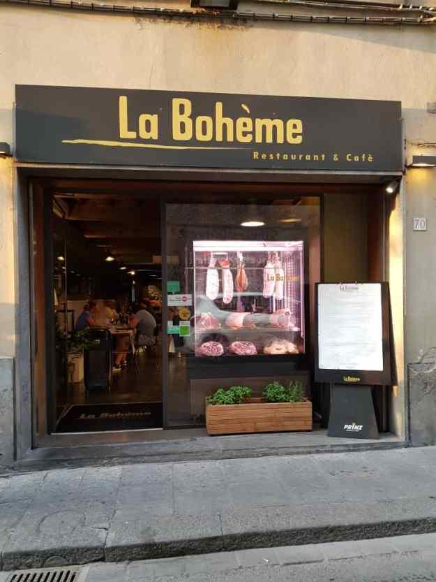 Florence Best Restaurants La Boheme.jpg