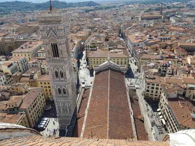 Florence Cathedral Dome view 3