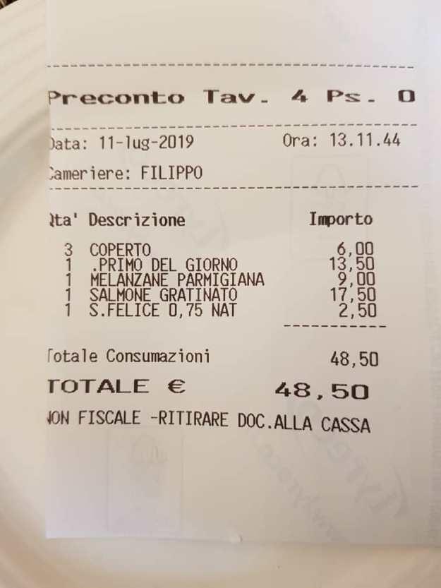 IL Desco Restaurant Florence Michelin 9