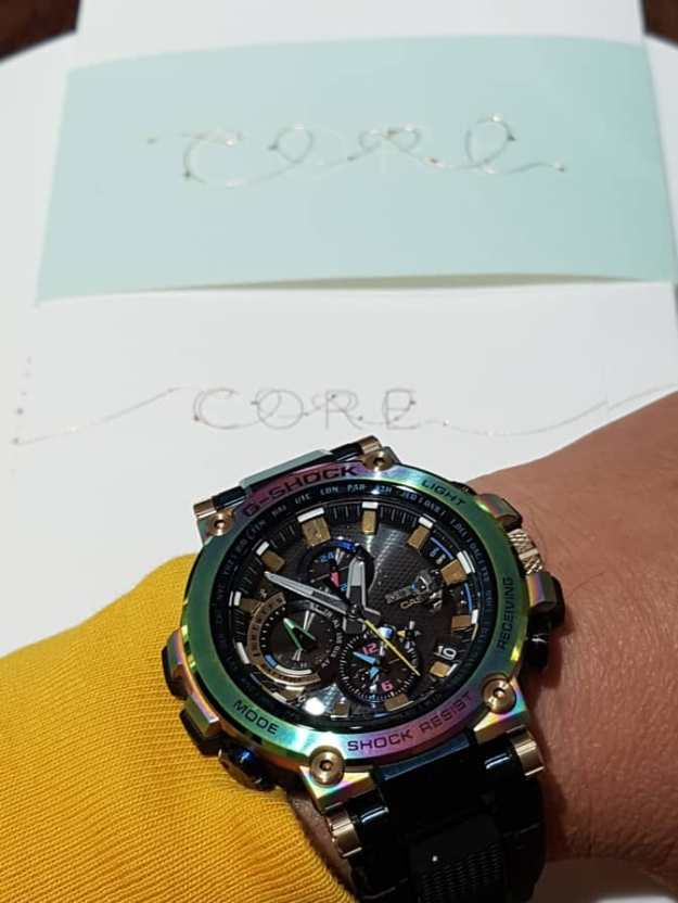 London Michelin  Star Restaurant  Core and G Shock.jpg