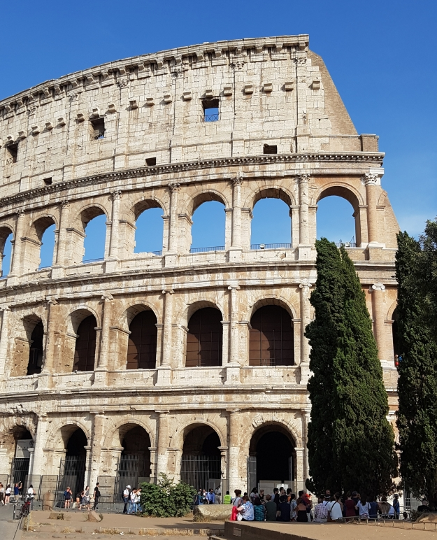 Rome Colosseum GenX Europe Trip 2019