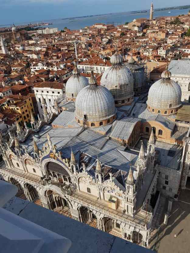 San Marco Basilica from tower Campanile.jpg