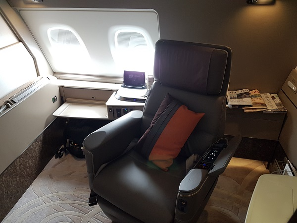 Singapore Airlines Airbus A380 Suite Class London to Singapore Review 10