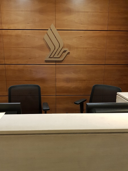 Singapore Airlines Suite First Class Lounge Heathrow Airport 1