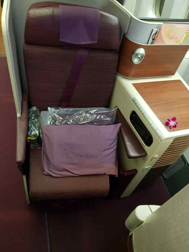 Thai Airways Business Class 1