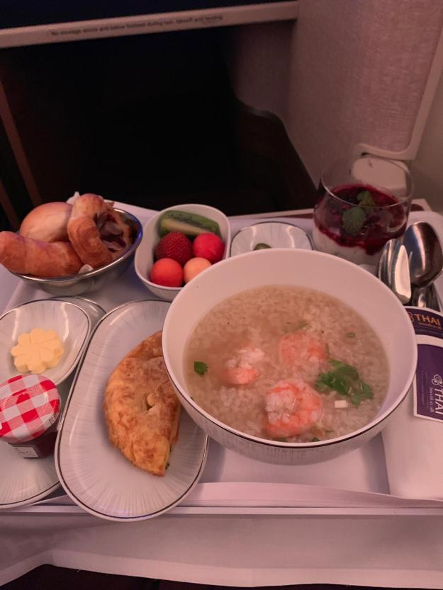 Thai Airways Business Class 15