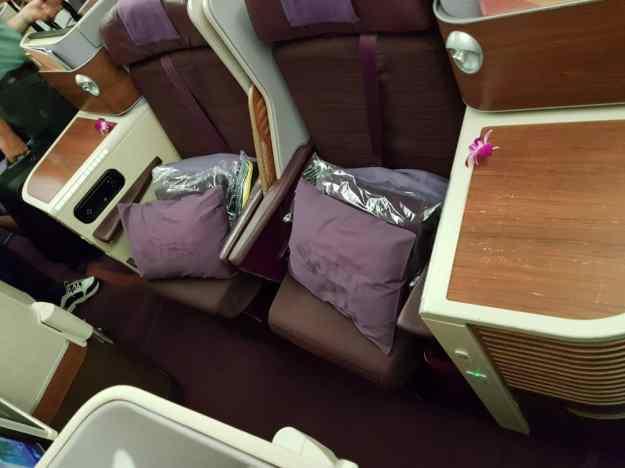 Thai Airways Business Class 5
