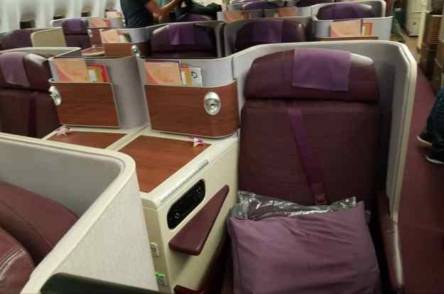 Thai Airways Business Class 7