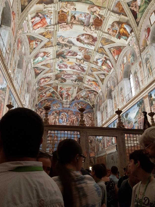 Vatican 16 Chapels The Last Judgement