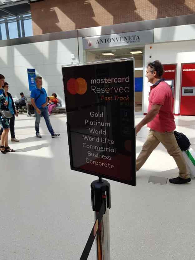 Venice Airport MasterCard