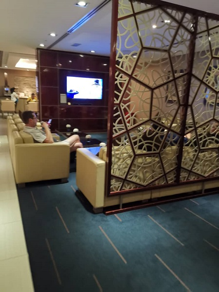 Emirates Business Class Lounge KLIA 1