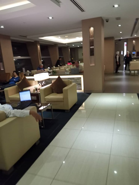 Emirates Business Class Lounge KLIA 2