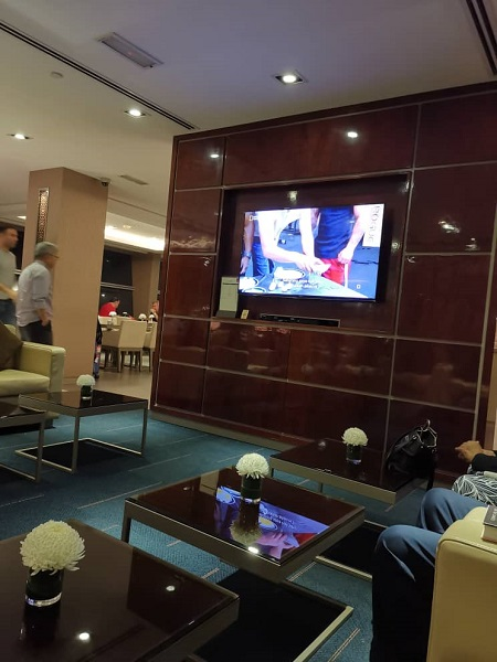 Emirates Business Class Lounge KLIA 3