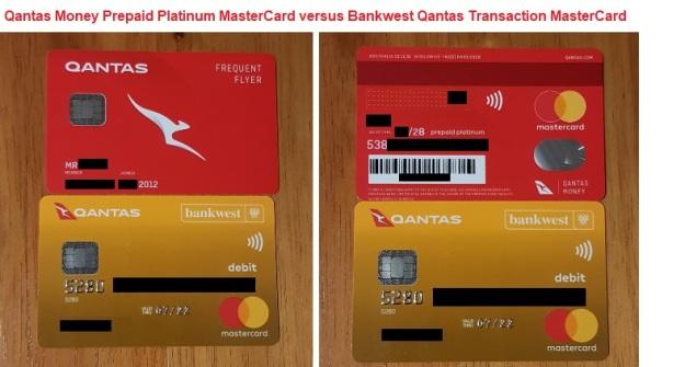 Qantas Money Prepaid MasterCard versus Bankwest Qantas Transaction MasterCard.jpg