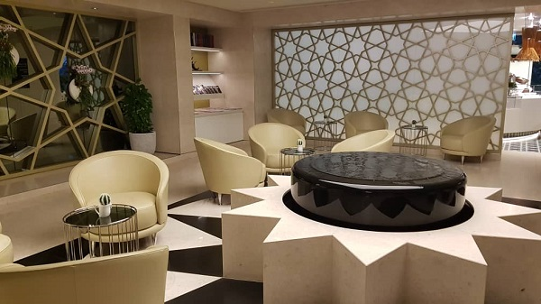 Qatar Airways Bangkok Lounge 3