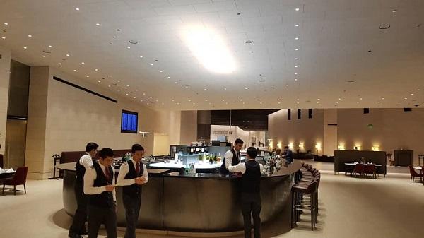 Qatar First Class Lounge Doha 8