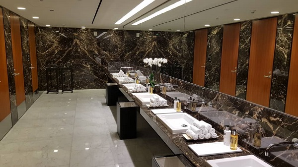 Qatar First Class Lounge Doha 9