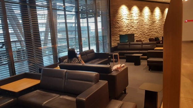 Zurich Airport Swiss Air Lounge A 10