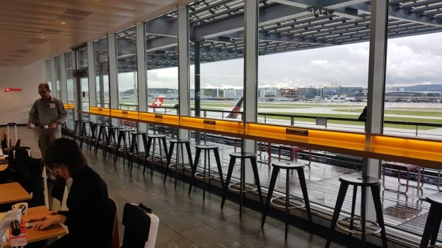 Zurich Airport Swiss Air Lounge E 4