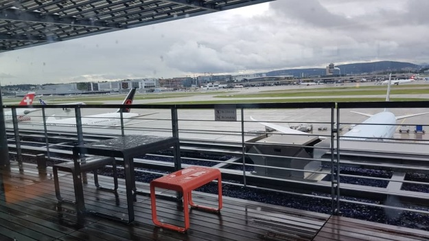 Zurich Airport Swiss Air Lounge E 6