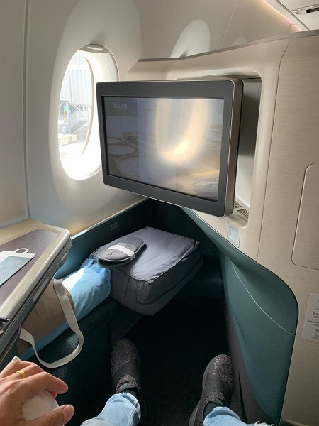 GenX Disciple Live Travel REport Cathay Pacific A250-1000 10