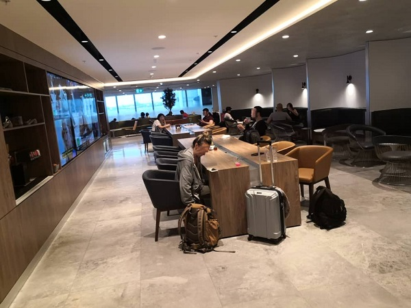 AMEX Lounge Sydney 2