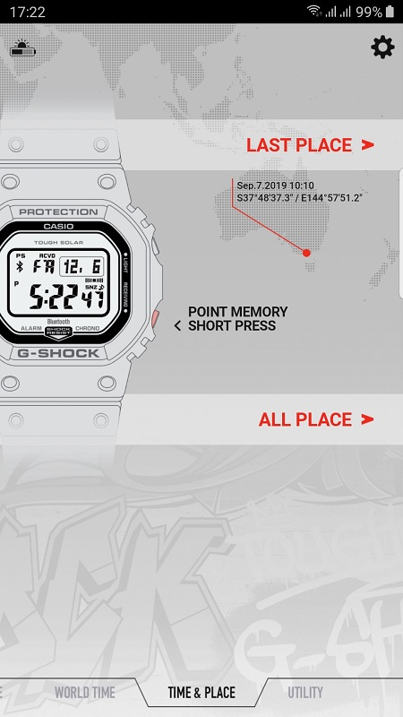 G Shock B5600 Red Heritage