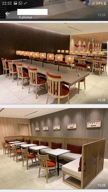 JAL First Class Lounge Haneda Tokyo 3