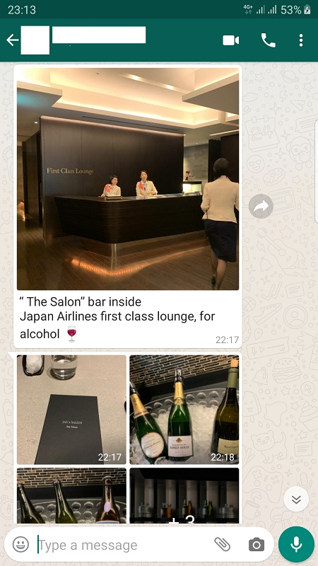 JAL First Class Lounge Haneda Tokyo Salon Bar 1