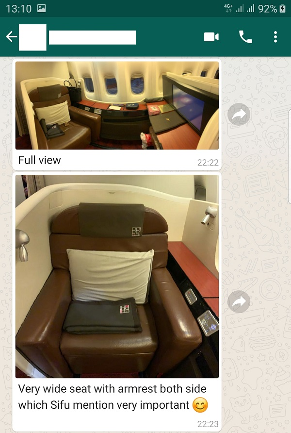 Japan Airlines JAL First Class Review Tokyo to New York USA 2