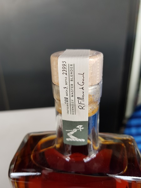 Hennessy Master Blenders No.3 2018 Limited Edition Year and Serial Number