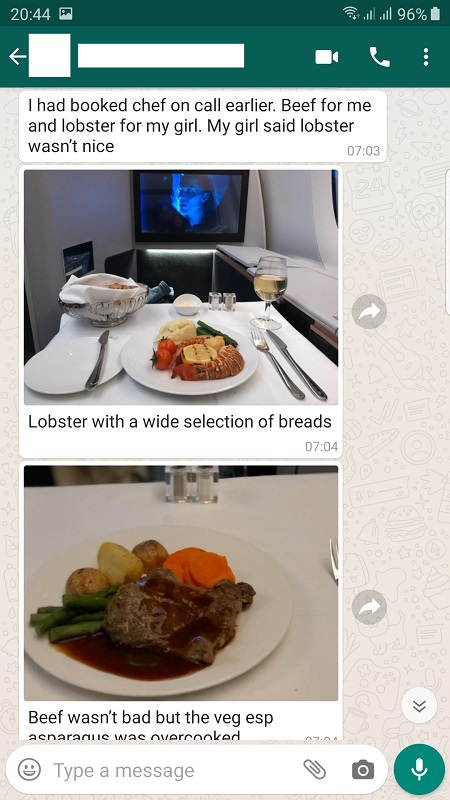 Malaysia Airlines Airbus A350 Business Suite London to KL Review 19